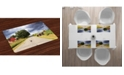 Ambesonne Rural Place Mats, Set of 4