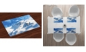 Ambesonne Mountain Place Mats, Set of 4