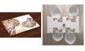 Ambesonne Seashells Place Mats, Set of 4