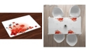 Ambesonne Poppy Place Mats, Set of 4