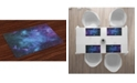 Ambesonne Outer Space Place Mats, Set of 4