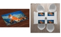 Ambesonne Fox Place Mats, Set of 4