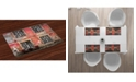 Ambesonne Urban Place Mats, Set of 4