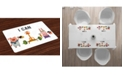 Ambesonne Fitness Place Mats, Set of 4