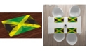 Ambesonne Jamaican Place Mats, Set of 4