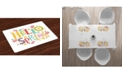 Ambesonne Hello Place Mats, Set of 4