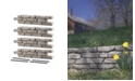 """RTS Home Accents Residential Pack of 4 Straights with 4 18"""" Spikes"""