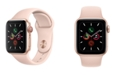 Apple Watch Series 5 GPS + Cellular, 40mm Gold Aluminum Case with Pink Sand Sport Band
