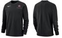 Nike Men's Ohio State Buckeyes Dry Top Crew Sweatshirt