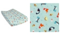 Trend Lab Dinosaurs Flannel Changing Pad Cover