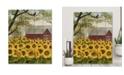 "Courtside Market Sunflower Barn 16"" x 20"" Wood Pallet Wall Art"