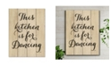 "Courtside Market This Kitchen is for Dancing 12"" x 16"" Wood Pallet Wall Art"