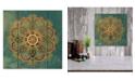"Courtside Market Boho Medallion I 12"" x 12"" Wood Pallet Wall Art"