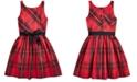 Polo Ralph Lauren Big Girl's Plaid Taffeta Dress