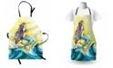 Ambesonne Mermaid Apron