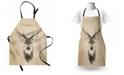 Ambesonne Deer Apron