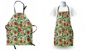Ambesonne Floral Apron