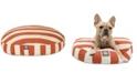 Majestic Pet Vertical Stripe Round Dog Bed