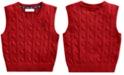 Polo Ralph Lauren Baby Boys Cable-Knit Cotton Sweater Vest