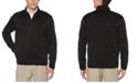 PGA TOUR Men's Quarter-Zip Fleece-Lined Golf Sweater