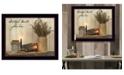 "Trendy Decor 4U Grateful Hearts By SUSAn Boyer, Printed Wall Art, Ready to hang, Black Frame, 26"" x 20"""