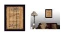 "Trendy Decor 4U Trendy Decor 4U Love By Debbie DeWitt, Printed Wall Art, Ready to hang, Black Frame, 14"" x 18"""