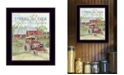 """Trendy Decor 4U Families That Farm Together Stay Together by Cindy Jacobs, Ready to hang Framed Print, Black Frame, 14"""" x 18"""""""