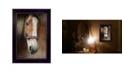 "Trendy Decor 4U Blaze By Robin-Lee Vieira, Printed Wall Art, Ready to hang, Black Frame, 14"" x 20"""