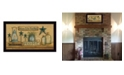 """Trendy Decor 4U Welcome to Our Farm House By Mary June, Printed Wall Art, Ready to hang, Black Frame, 20"""" x 11"""""""