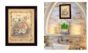 """Trendy Decor 4U Iron Your Troubles By Mary June, Printed Wall Art, Ready to hang, Black Frame, 10"""" x 12"""""""