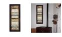 "Trendy Decor 4U Family Rules Shutter By Marla Rae, Printed Wall Art, Ready to hang, Black Frame, 14"" x 38"""