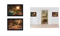 "Trendy Decor 4U Resting Places 2-Piece Vignette by Robin-Lee Vieira, Black Frame, 18"" x 14"""