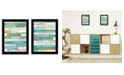"""Trendy Decor 4U Live in The Present Collection By Marla Rae, Printed Wall Art, Ready to hang, Black Frame, 10"""" x 14"""""""