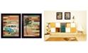 "Trendy Decor 4U Trendy Decor 4U Journey Collection By Marla Rae, Printed Wall Art, Ready to hang, Black Frame, 28"" x 18"""