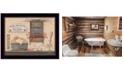 "Trendy Decor 4U Free Showers By Pam Britton, Printed Wall Art, Ready to hang, Black Frame, 18"" x 14"""