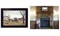 """Trendy Decor 4U Goin' to Market By Billy Jacobs, Printed Wall Art, Ready to hang, Black Frame, 14"""" x 20"""""""