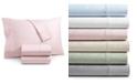 AQ Textiles Bergen House Woven Floral Vine 4-Pc. Queen Extra Deep Sheet Set, 1000-Thread Count 100% Certified Egyptian Cotton