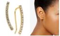 INC International Concepts INC Pavé Bar Climber Earrings, Created For Macy's