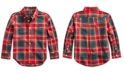 Polo Ralph Lauren Toddler Boys Plaid Cotton Poplin Shirt