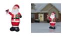 National Tree Company 12 ft. Inflatable Santa