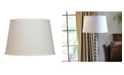 Cloth&Wire Slant Modified Empire Hardback Lampshade with Washer Fitter Collection