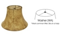 Cloth&Wire Slant Bell Faux Leather Softback Lampshade Collection