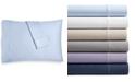 AQ Textiles Bergen House Woven Diamond Dot Standard Pillowcases 1000-Thread Count 100% Certified Egyptian Cotton