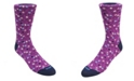 DUCHAMP LONDON Men's Small Floral Dress Sock