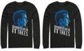 Marvel Men's Avengers Endgame Captain America Side View Whatever It Takes, Long Sleeve T-shirt