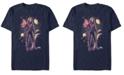 Marvel Men's Captain Marvel Galaxy Goose Portrait, Short Sleeve T-shirt