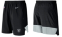 Nike Men's Oakland Raiders Player Practice Flex Shorts