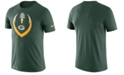Nike Men's Green Bay Packers Dri-Fit Cotton Modern Icon T-Shirt