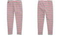 Polo Ralph Lauren Big Girls Striped Stretch Cotton Jersey Legging
