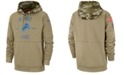Nike Men's Detroit Lions Salute To Service Therma Hoodie